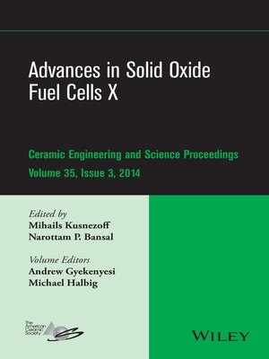 cover image of Advances in Solid Oxide Fuel Cells X